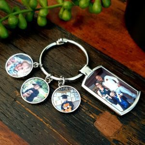 Blank Sublimation Keyrings, Fobs and Chains - Charm Style Keyring